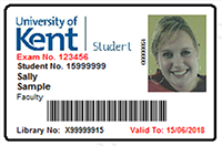 Kentone University Kent Of Hospitality - Card