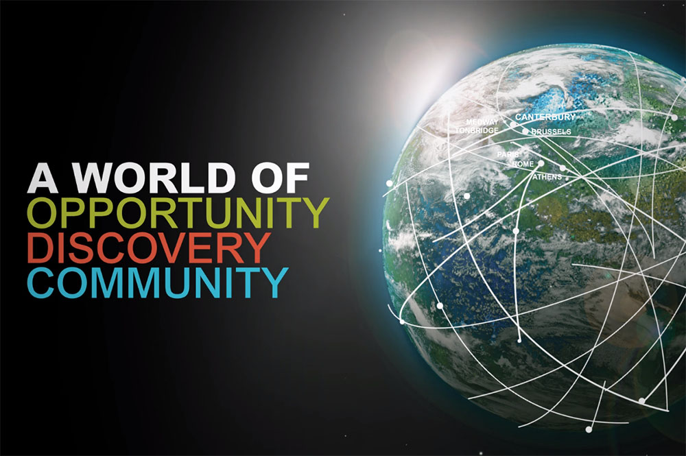 A world of opportunity, discovery and community