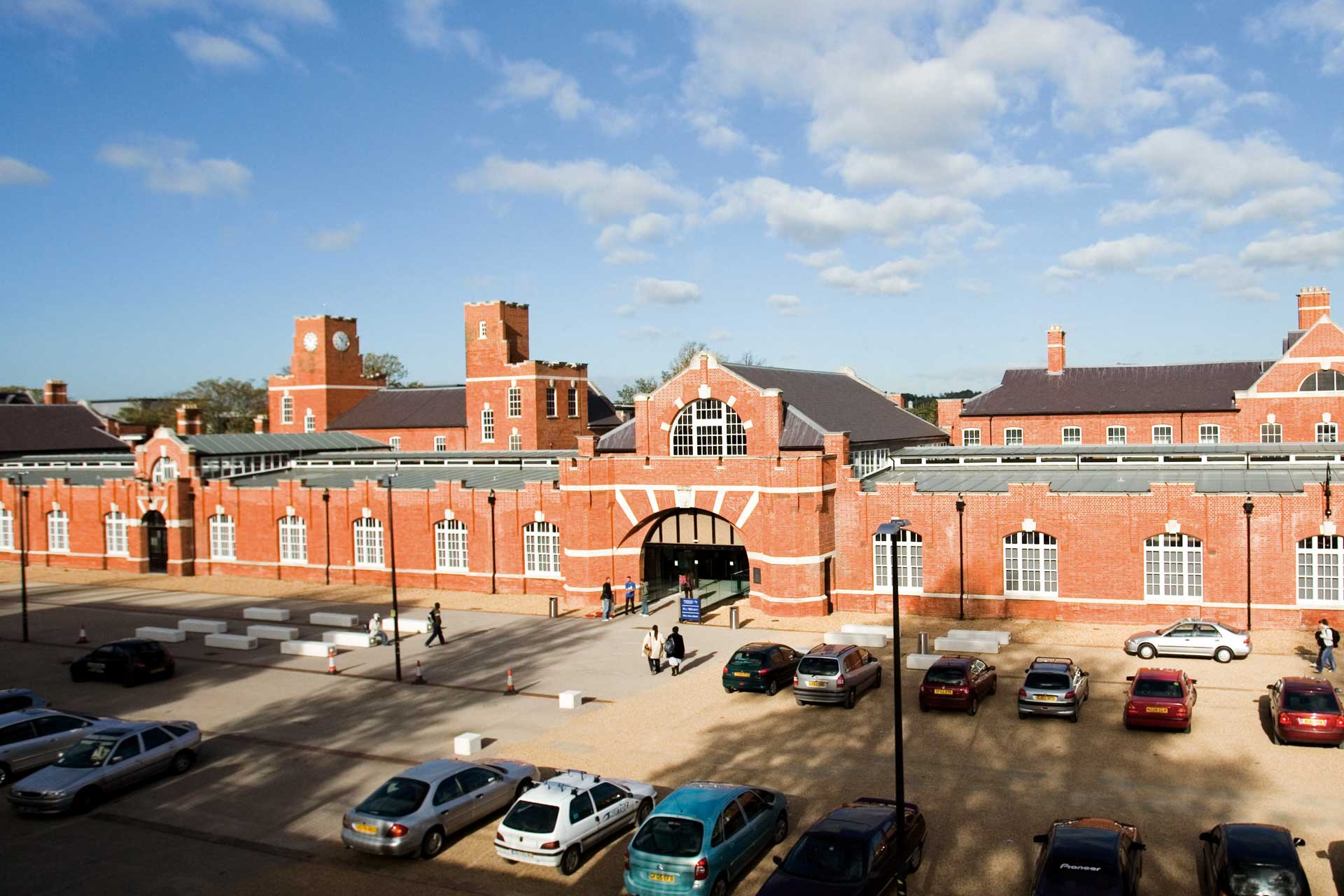 The Drill Hall Library at Medway