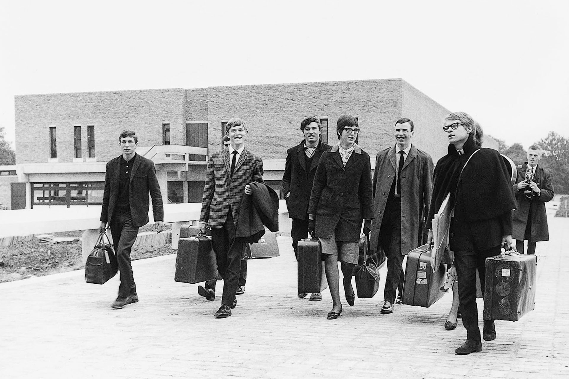 Pride in our past - first students arriving at the University