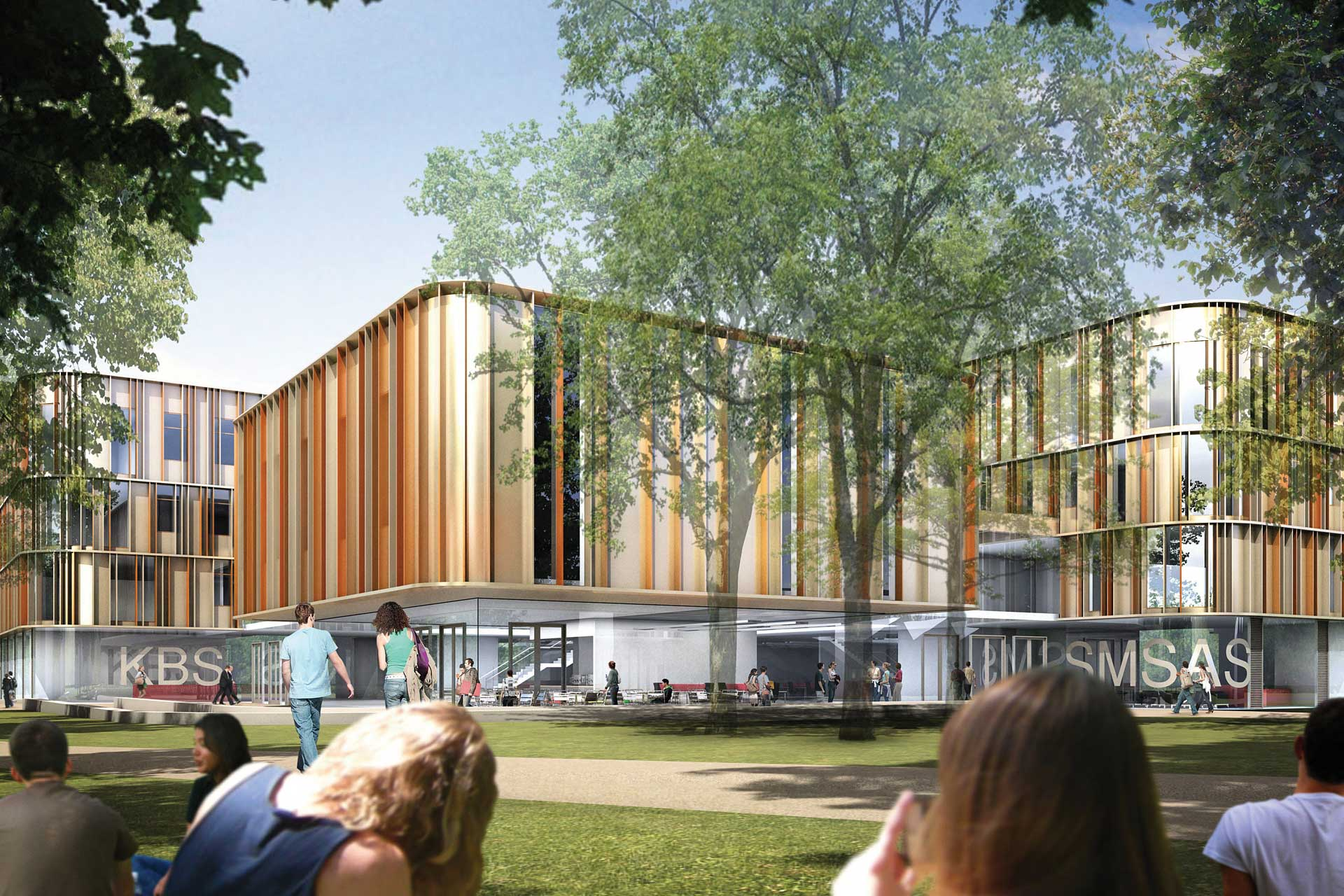 New Sibson Building for the Kent Business School