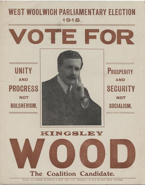 University Election Posters Election Campaign Poster 1918
