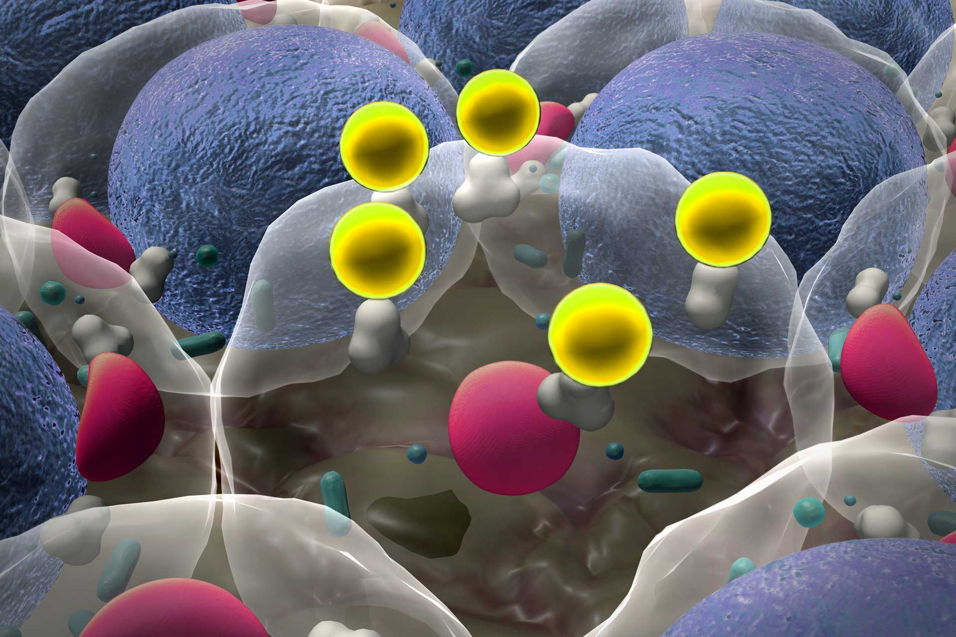 Nanoparticle graphic